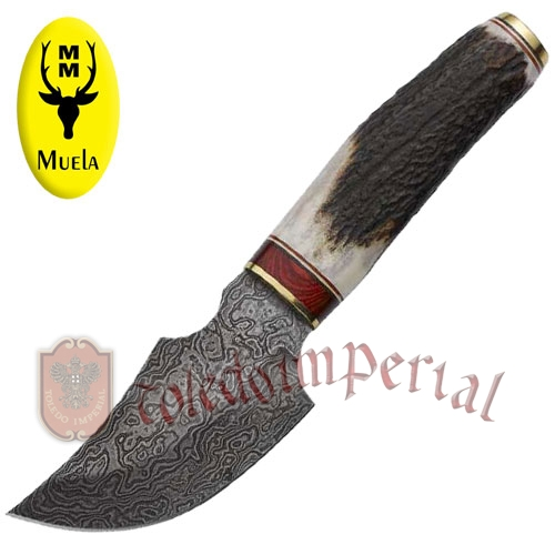Knife with stag handle AFRICA-9DAM
