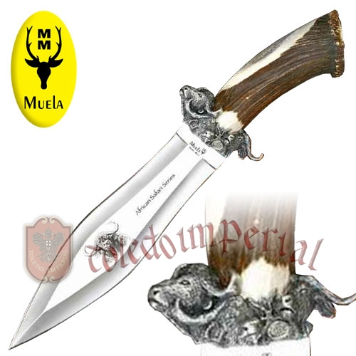 Cuchillo de lujo Buffalo big five