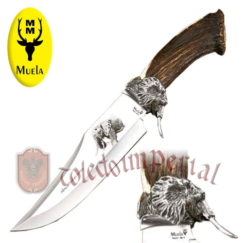 Cuchillo de lujo Elephant big five