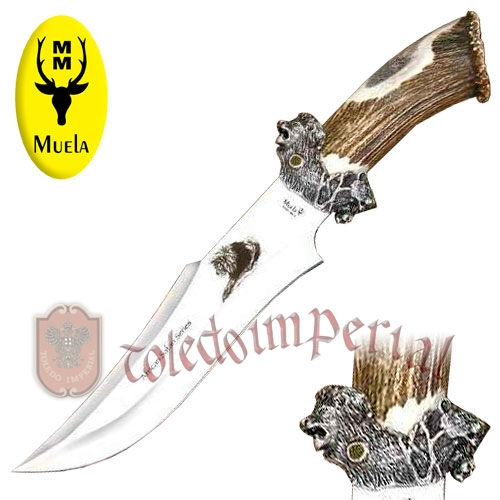 Cuchillo de lujo Lion big five