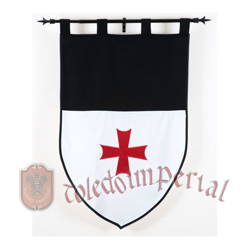 MF1527 Estandarte Templario (Doble)